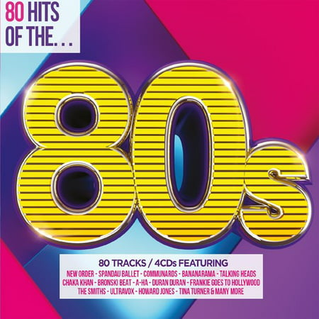 80 Hits Of The 80s / Various (CD)](80s Halloween Music)