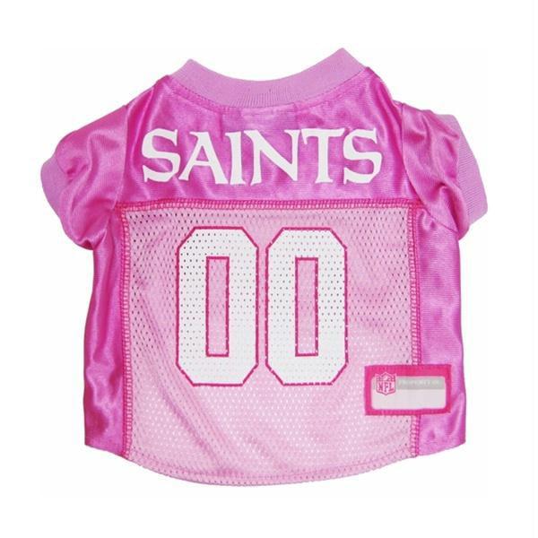 New Orleans Saints Pink Dog Jersey