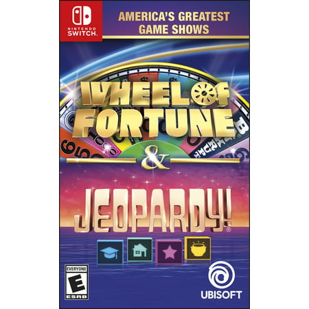 America's Greatest Game Shows: Wheel of Fortune & Jeopardy!, Ubisoft, Nintendo Switch, - Wheel Of Fortune Halloween