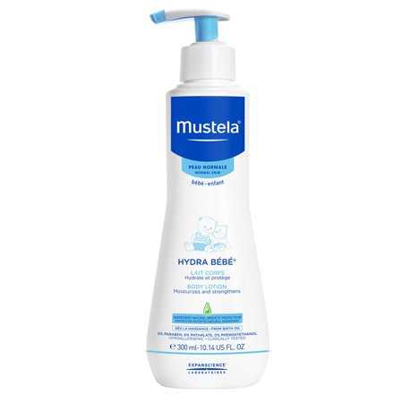 Mustela Hydra Bebe Body Lotion, Baby Lotion with Natural Avocado Perseose, 10.14