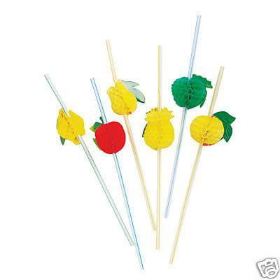 - 12 Fruit tissue Straws