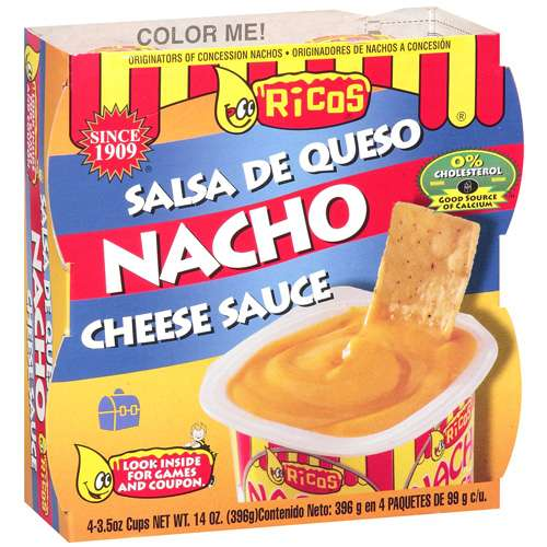 Ricos Nacho Cheese Sauce, 4 ct