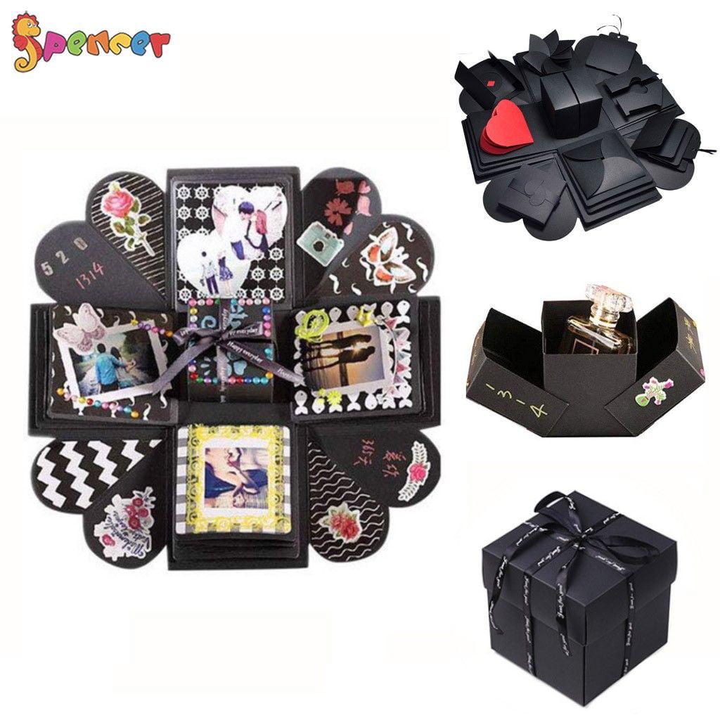 Spencer Creative Explosion Gift Box Scrapbook DIY Handmade