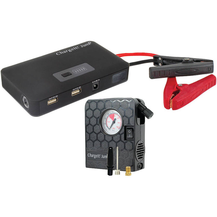 Pct Brands 70211 Jump Deluxe Car Battery Charging System With Air Compressor and Usb Ports
