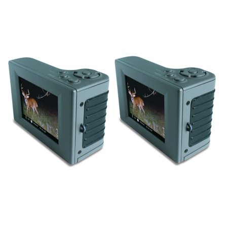 (2) MOULTRIE Hand Held Game Camera Digital Picture Viewers w/ 2.8