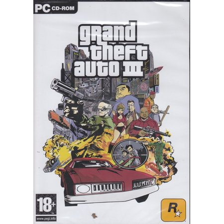 Grand Theft Auto III (GTA 3) PC Game Liberty City