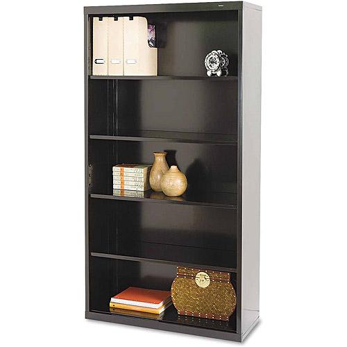 Tennsco 5-Shelf Metal Bookcase