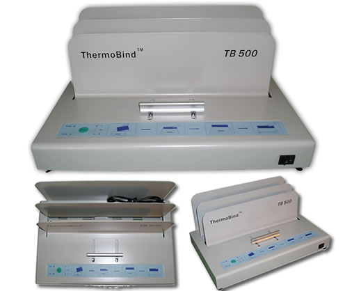 ThermoBind TB500 Medium to Heavy Duty, Universal Thermal Binding Machine by