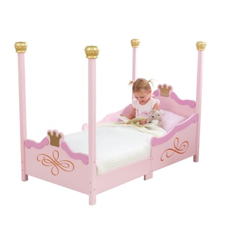 KidKraft Princess Toddler Bed (Toddler Car Bed Girl)