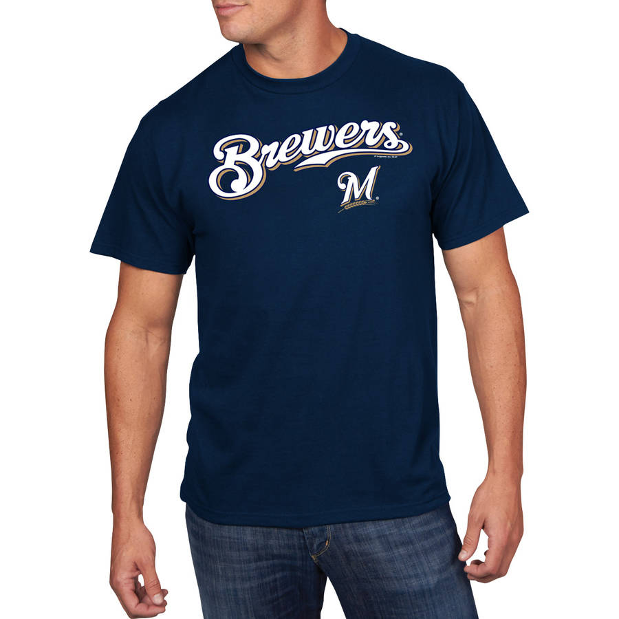 Big Men's MLB Milwaukee Brewers Team Tee