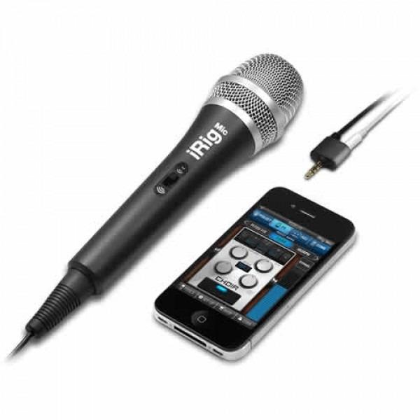 IK Multimedia iRig Handheld Mic by