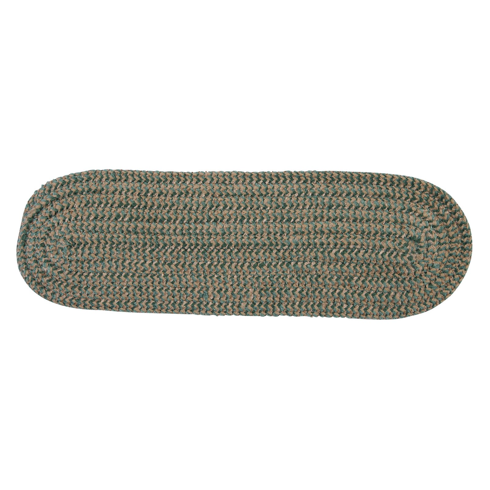 Colonial Mills Softex Check Stair Tread - 8 x 28 in. - Set of 13