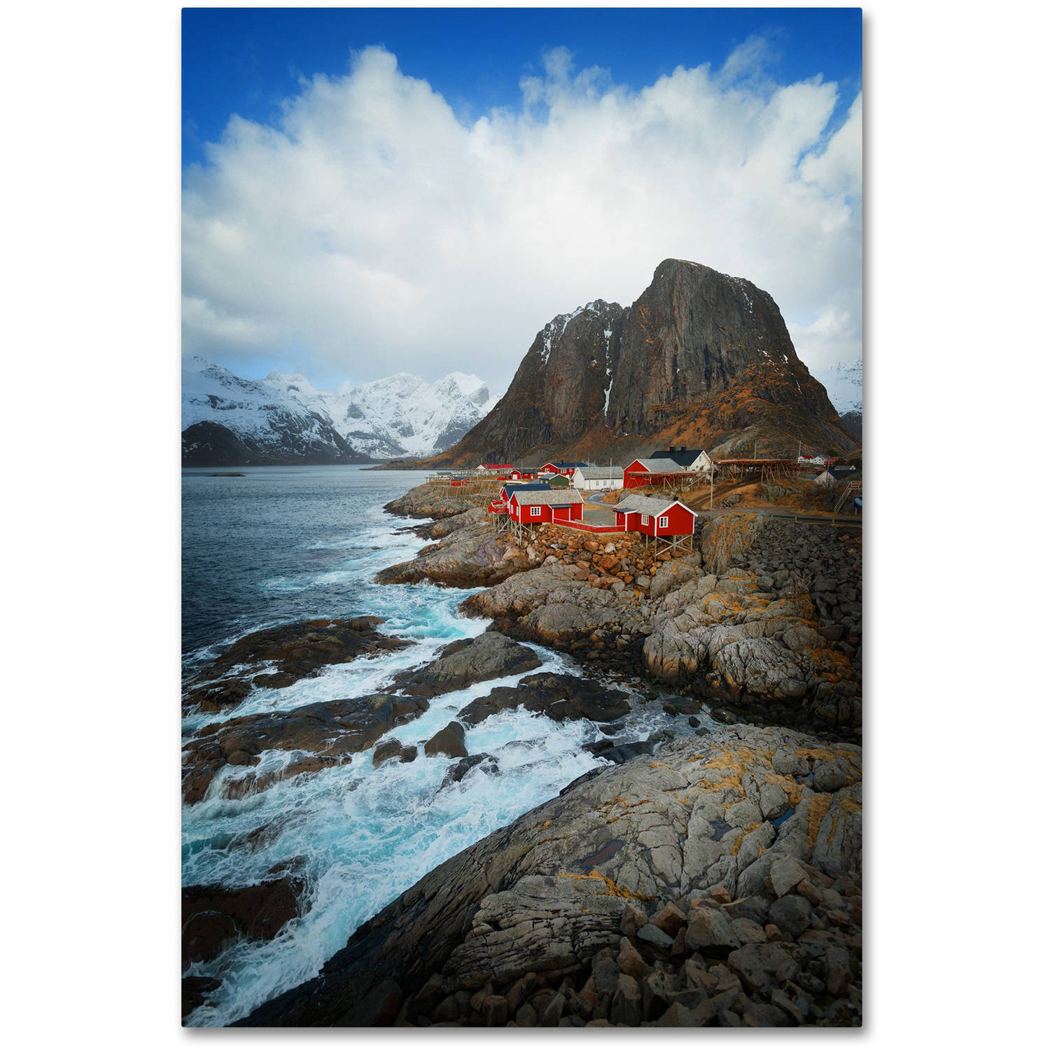 "Trademark Fine Art ""Hamnoy"" Canvas Art by Philippe Sainte-Laudy"