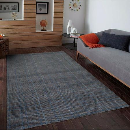 Persian Rugs Tobis Gray Indoor Outdoor Area Rug Walmart Com