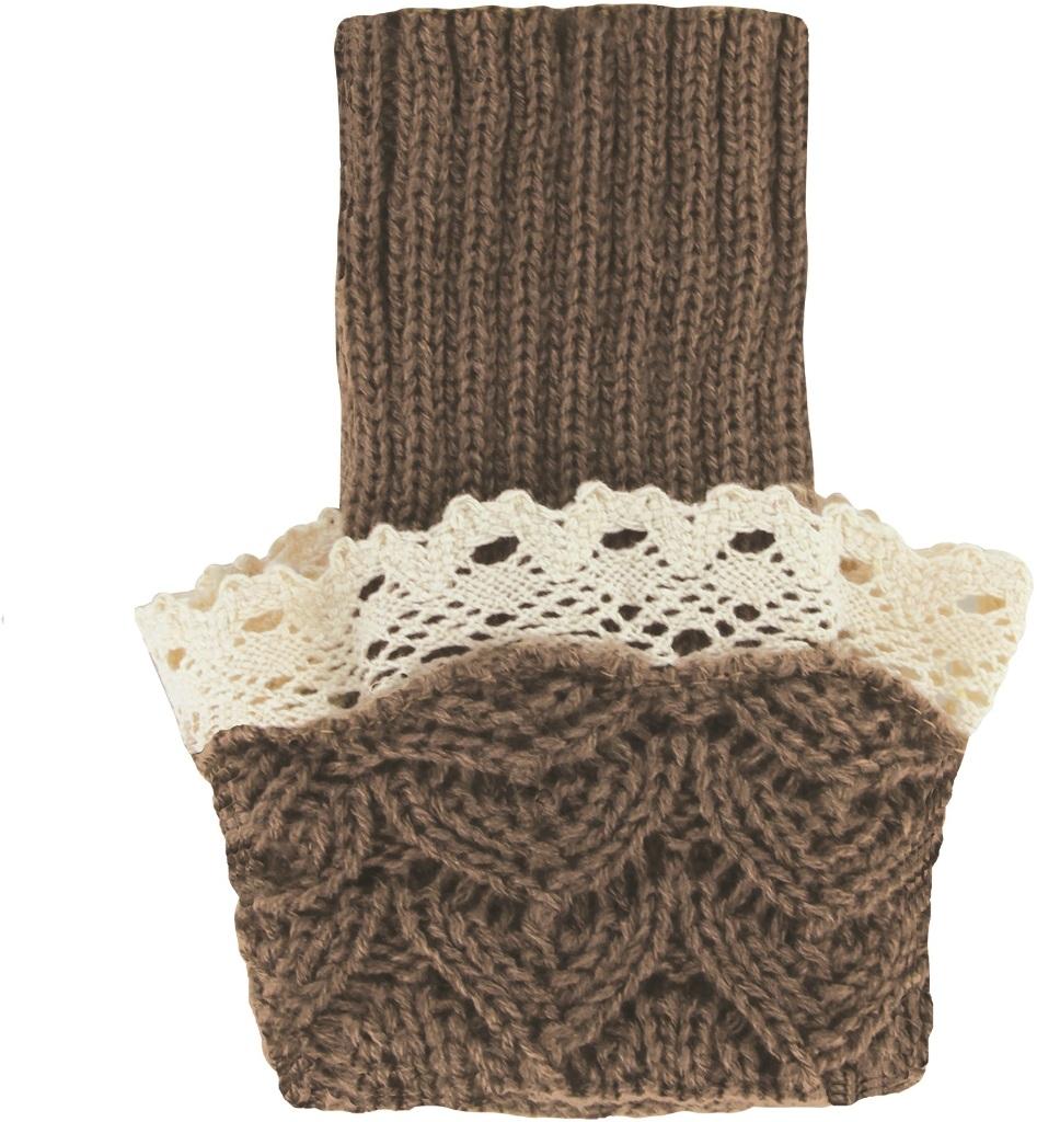 Britt's Knits Wrist Warmers - Khaki Case Pack 24