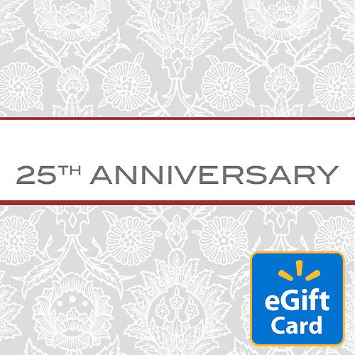 25th Anniversary Walmart eGift Card