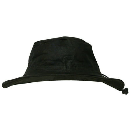 Breathable Bucket Hat | Black-One Size