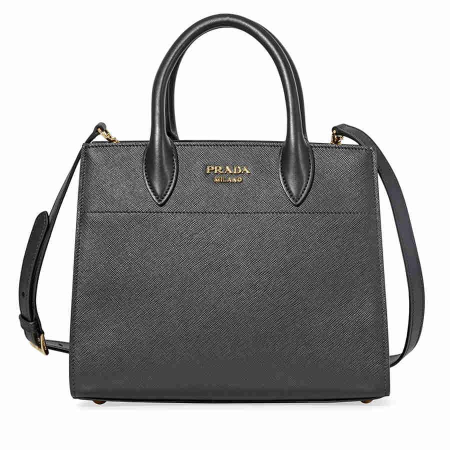 a4da86802fee00 ... switzerland prada saffiano calf leather crossbody bag black 1a1f4 9549d