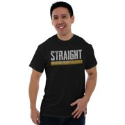 Nerd Short Sleeve T-Shirt Tees Tshirts Straight Edge Ruler Funny Sarcastic Pun Humor