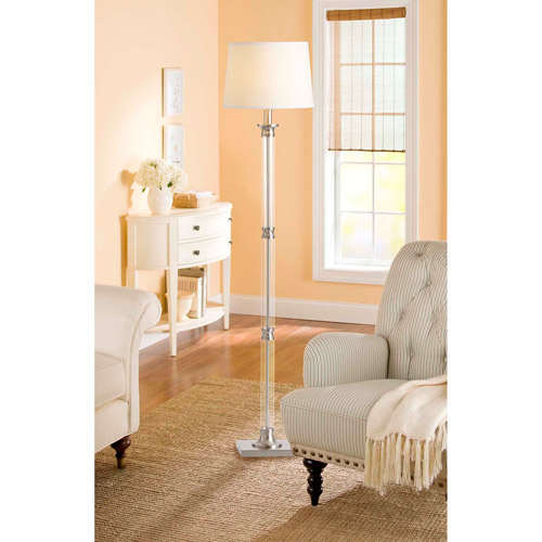 Better Homes and Gardens Translucent Column Floor Lamp