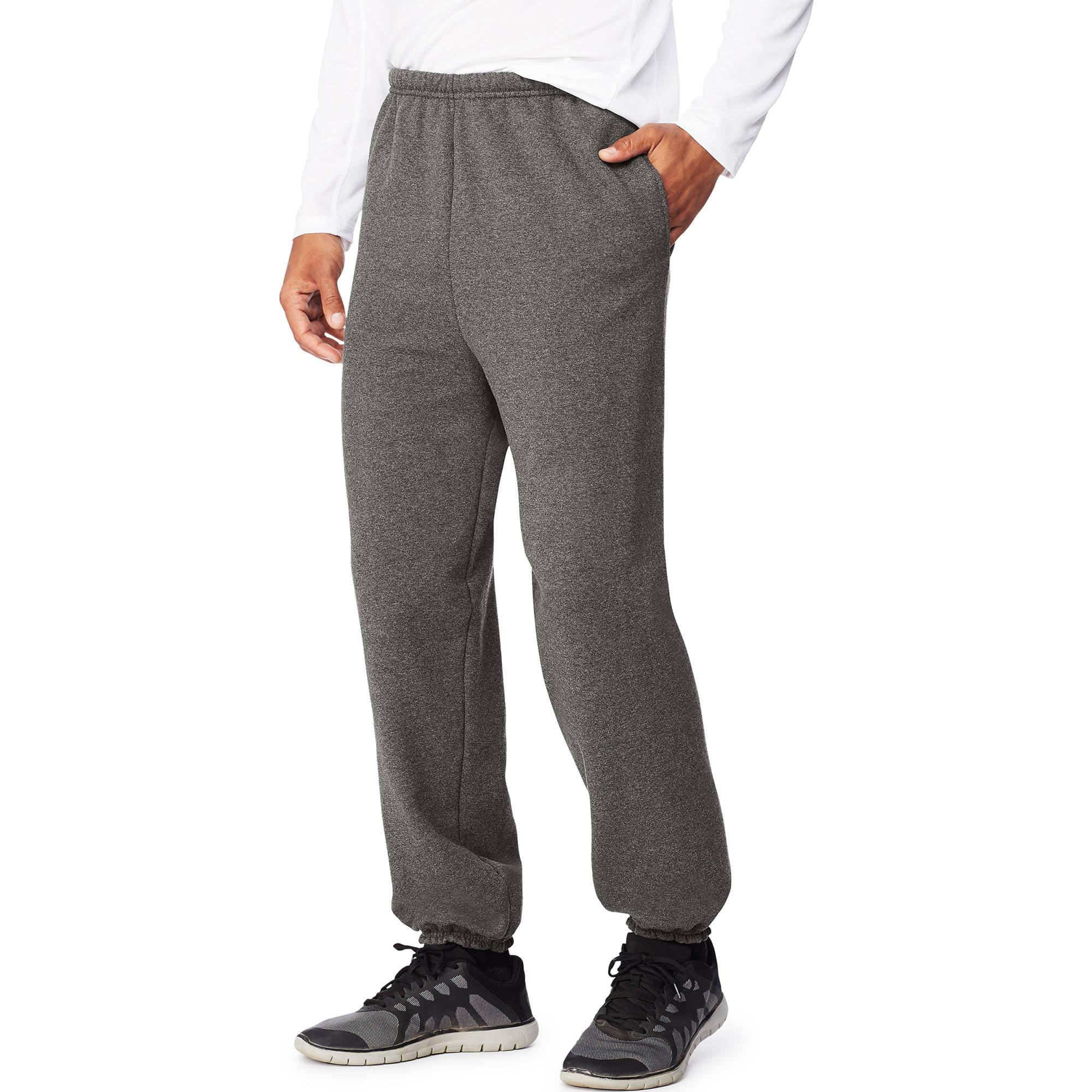 Hanes Sport Ultimate Cotton Big Men's Fleece Sweatpants with Pockets