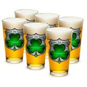 Police 16 oz. Pint Glass Irish Brotherhood Police (Case of 12) by Erazor Bits