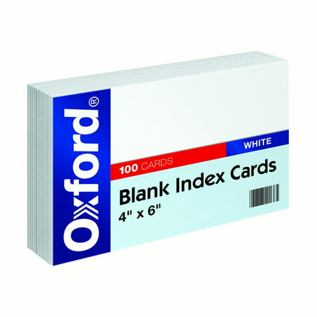 Blank Index (Blank Index Cards, 4