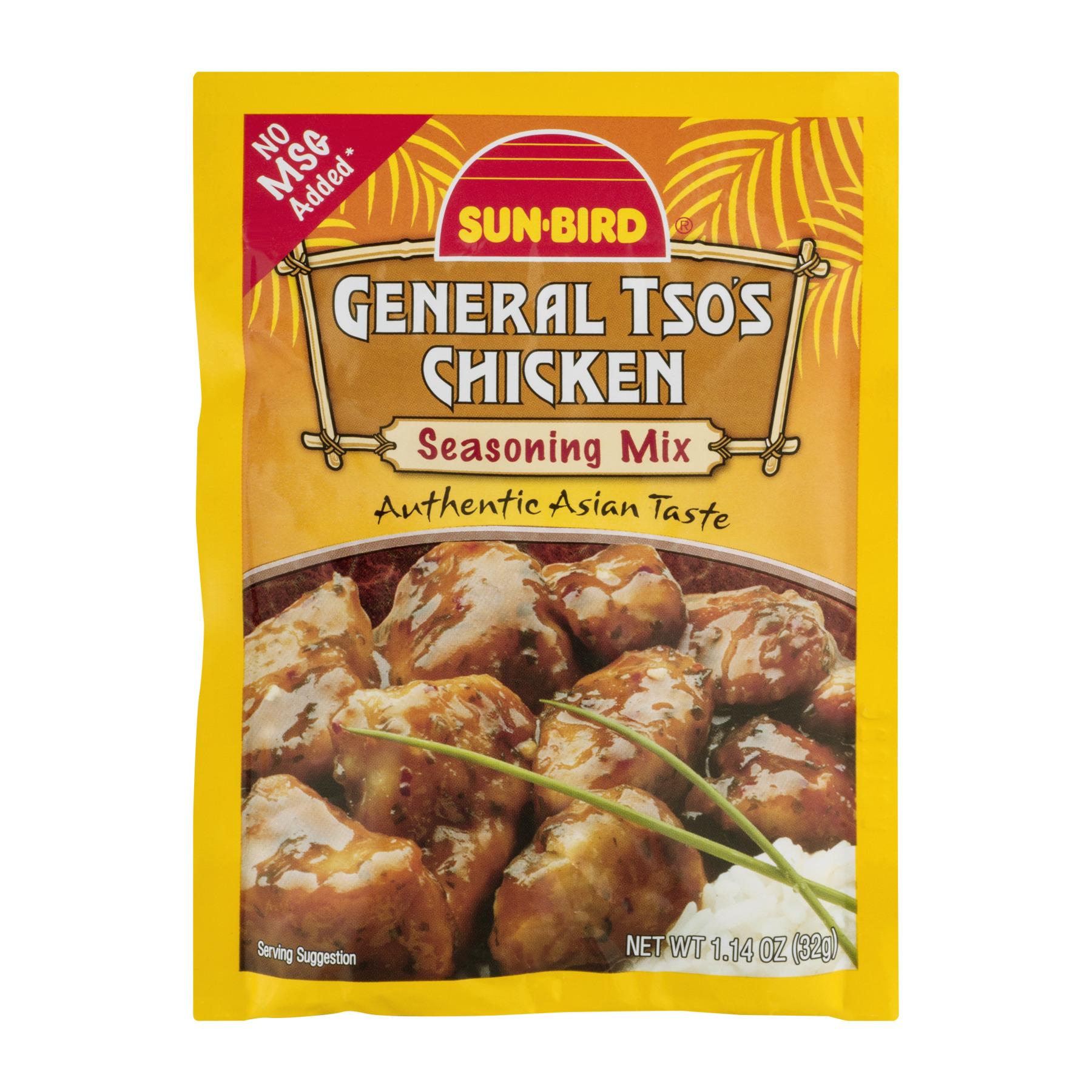 Sun-Bird General Tso's Chicken Seasoning Mix, 1.14 OZ