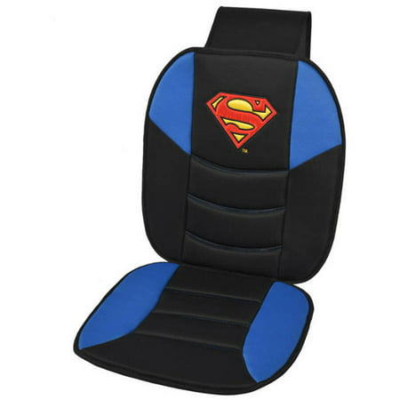 Superman Car Seat Cushion Padded Comfort Support For Auto And Home Covers