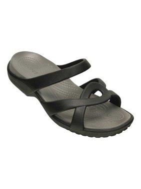 080ceed548d7 Product Image crocs 202497-05M   Women s Meleen Twist Sandal Black Smoke (5  B(