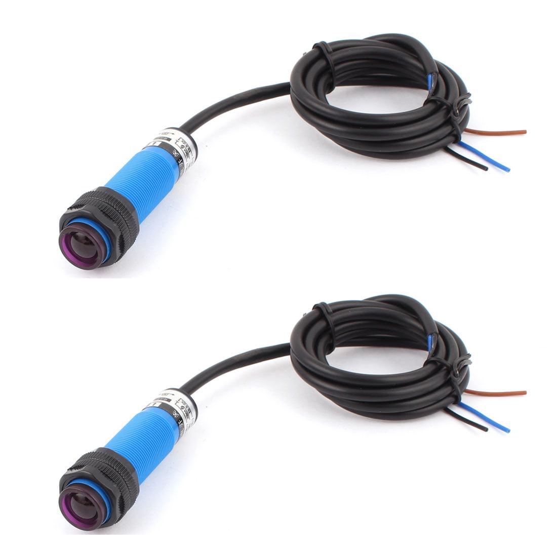 DC 6-36V NPN NO 5M Detection  Sensor Photoelectric Detect Switch 2pcs