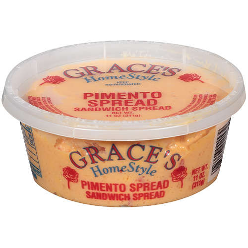 Grace's Home Style Pimento with Cheese Cheese Sandwich Spread, 11 oz