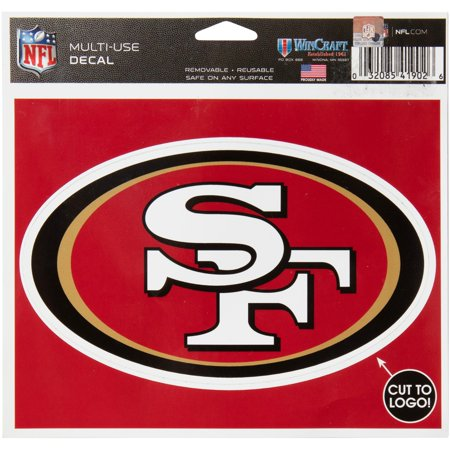 San Francisco 49ers WinCraft Multi-Use Decal - No Size ()