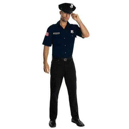 Blue Police Officer Costume](Police Officer Adult Costume)