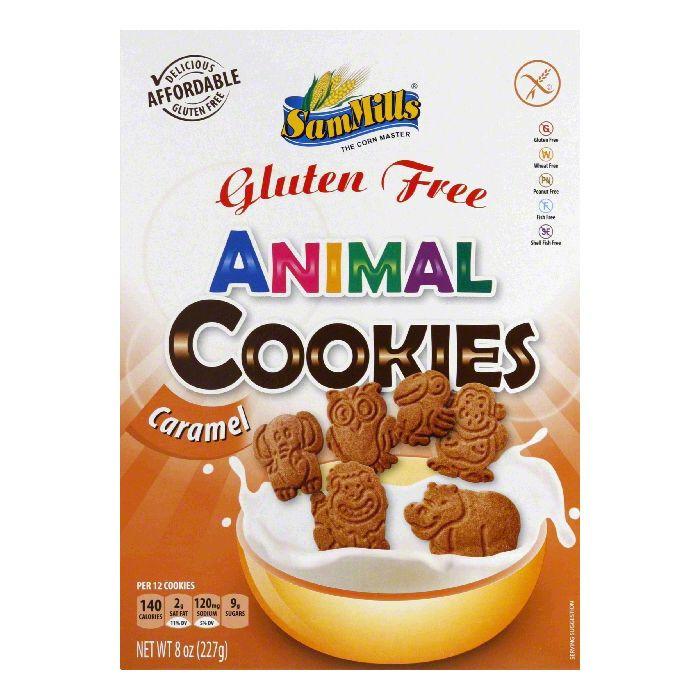 Sam Mills USA LLC Sam Mills Gluten Free Caramel Animal Cookies, 8 oz
