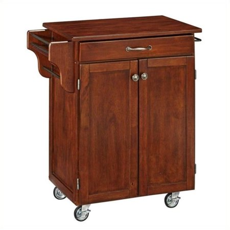 Hawthorne Collections Kitchen Cart in Cherry