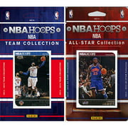 CandICollectables 2014KNICKSTS NBA New York Knicks Licensed 2014-15 Hoops Team Set Plus 2014-15 Hoops All-Star Set