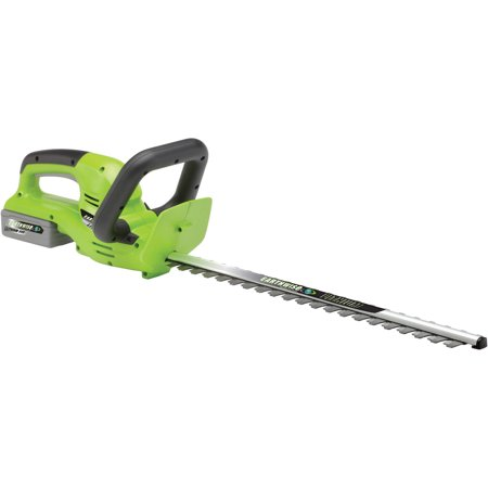Earthwise LHT12422 24-Volt Lithium Ion Cordless Electric Hedge Trimmer 22