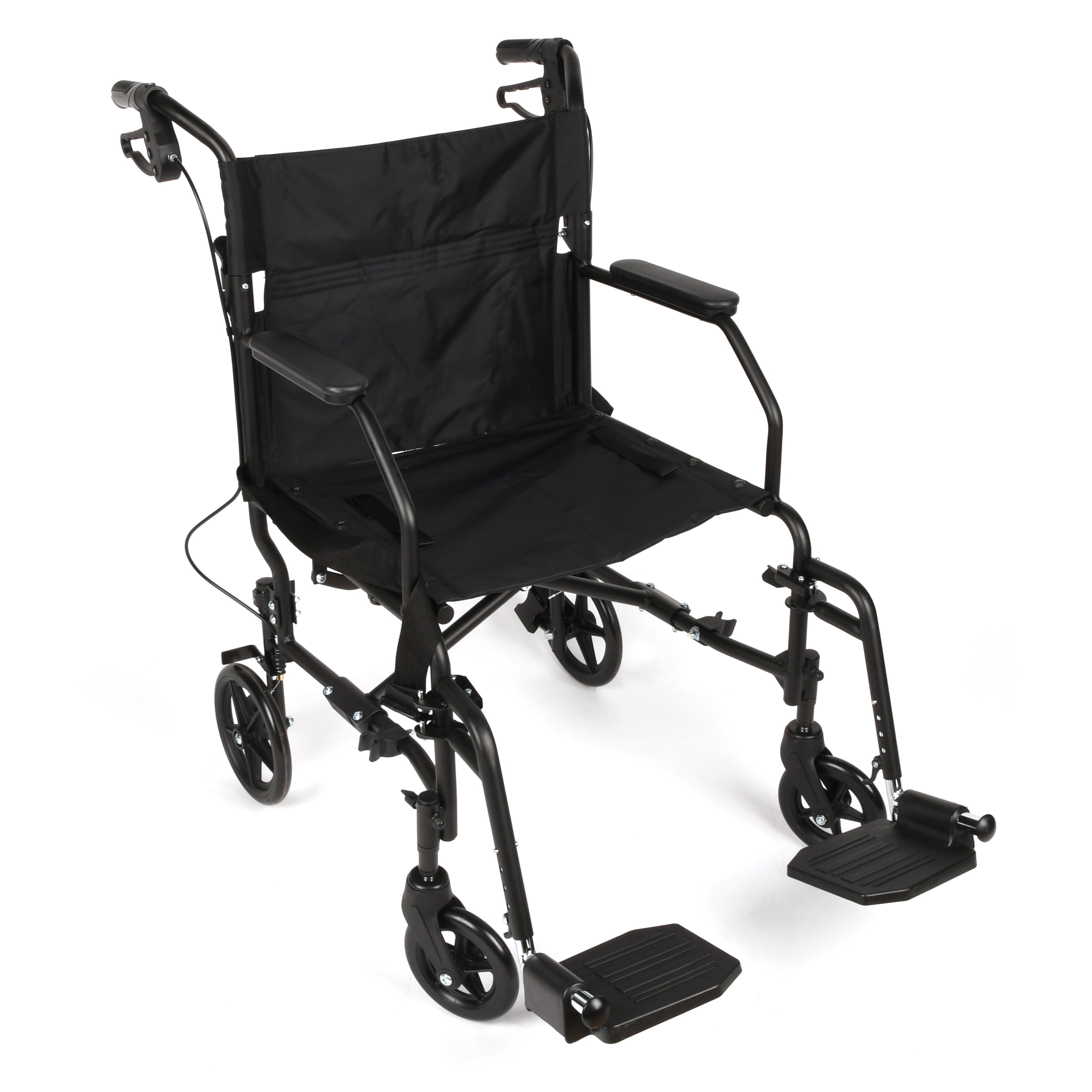 Stupendous Equate Steel Transport Wheelchair 19 Seat Folds For Easy Storage Travel 300 Lbs Weight Capacity Walmart Com Bralicious Painted Fabric Chair Ideas Braliciousco