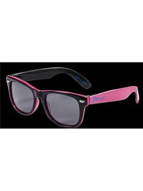 Kids Dual Polarised Sunglasses, Pink & Black
