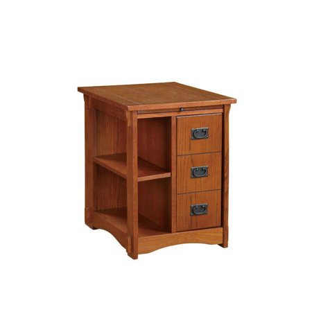 Powell Mission Oak Cabinet Table (Mission Oak Server)
