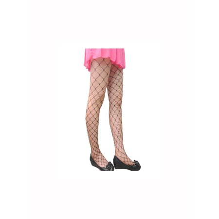 Unique Bargains Women's Stockings Pantyhose Fishnet Trendy Strechy Middle Net 2 Pack