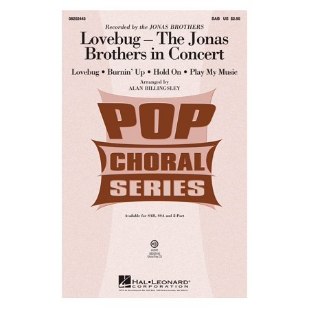 Lovebug Costume (Hal Leonard Lovebug - The Jonas Brothers In Concert (Medley) SAB by Jonas Brothers arranged by Alan)