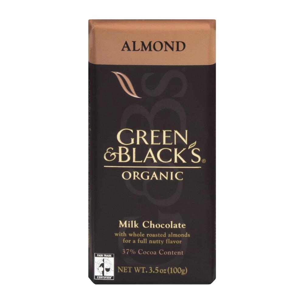 Green & Black's Organic Milk Chocolate Almond, 3.5 OZ
