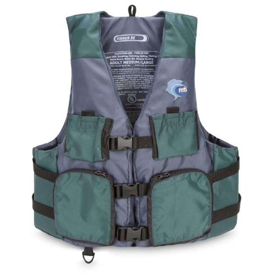 MTI Adventurewear MTI Fisher SE Angler Fishing PFD Vest