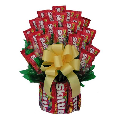 All Skittles™ Candy Bouquet
