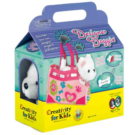 My First Designer Doggie - Preschool Craft Kit by Creativity for Kids (Halloween Arts And Crafts For First Graders)