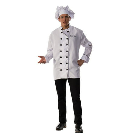 Halloween Chef De Partie Adult Costume - Maquillaje De Halloween