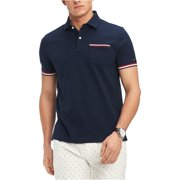 Tommy Hilfiger Mens Homer Rugby Polo Shirt, blue, X-Small