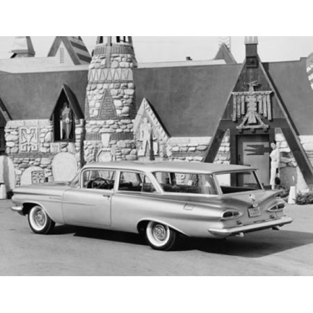 Brookwood Collection - 1959 Chevrolet Brookwood Station Wagon Stretched Canvas -  (18 x 24)